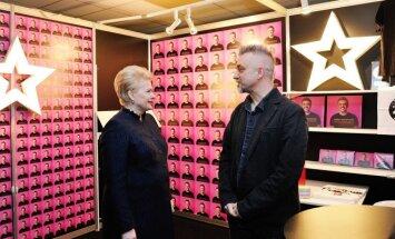 Dalia Grybauskaitė ir Andrius Mamontovas