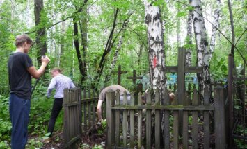 Lithuanian cemetery in Tomsk