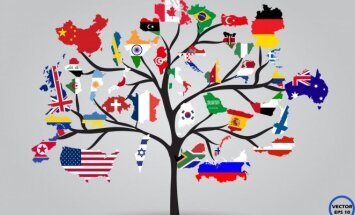Žemėlapis kitaip: kuo garsėja skirtingos pasaulio šalys?