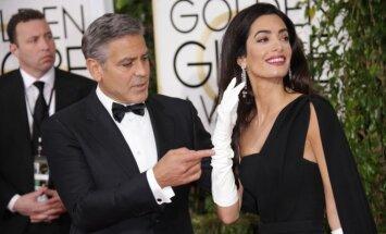 George Clooney ir Amal Clooney