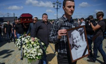 Pavelo Šeremeto laidotuvės