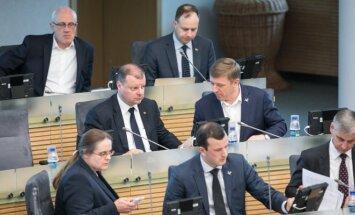 Farmers' political faction in the Seimas