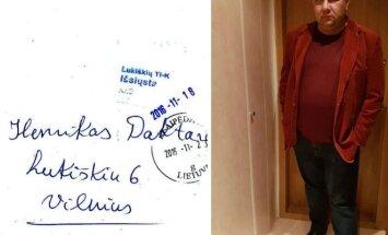E. Ostapenko gavo H. Daktaro laišką.