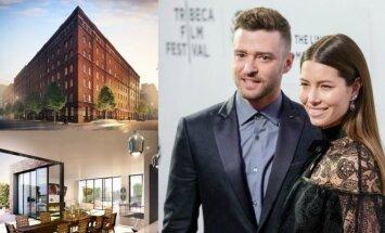 Justino Timberlake'o ir Jessicos Biel namai