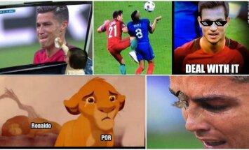 Euro 2016 finalas internautų pokštai