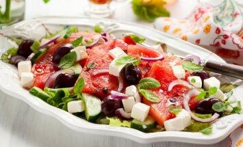3 vasaros salotos lengviems pietums