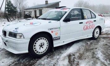 Žiemos raliui parengtas G. Firanto BMW