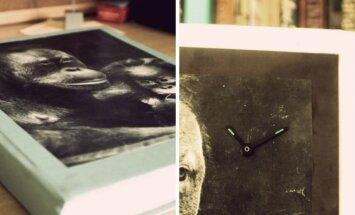 Kaip pagaminti laikrodį iš knygos