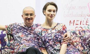Aleksandras Pogrebnojus ir Monika Račiūnaitė