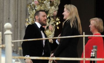 Conoras McGregoras sesers vestuvėse