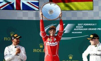 Lewisas Hamiltonas, Sebastianas Vettelis ir Valteri Bottas