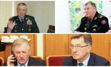 R. Pocius, S. Madalovas, G. Kirkilas, A. Butkevičius