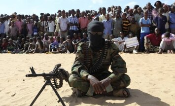 Al Shabaab kovotojas