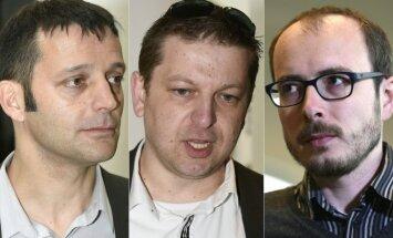 Edouardas Perrinas, Raphaelis Halet, Antoine Deltour