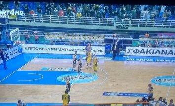 Beprotiška rungtynių baigtis Graikijos lygos mažajame finale