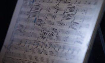 Gustavo Mahlerio rankraštis