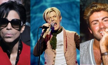 Prince'as, Davidas Bowie, George'as Michaelas