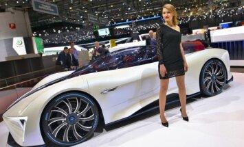 Ženevos paroda neatsiejama nuo superautomobilių