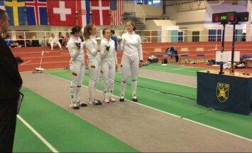 Lietuvos moterų fechtavimosi komanda