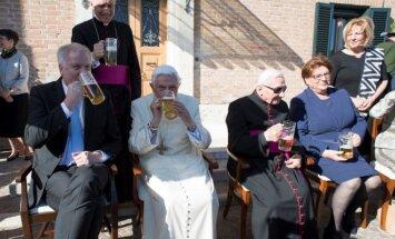 Popiežius Benediktas XVI šventė jubiliejų
