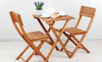 Pasidaryk pats: lengvai sulankstoma kėdė
