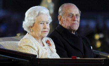 Britanijos karalienė Elžbieta II ir jos vyras princas Philipas