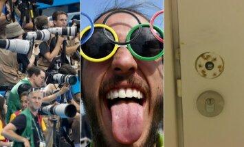 Žurnalistams Rio de Žaneire dažnai tenka sukti ratus, o nuo durų kartais dingsta rankenos