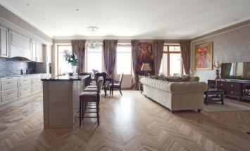 Klasika su charakteriu 150 kv.m bute Vilniuje
