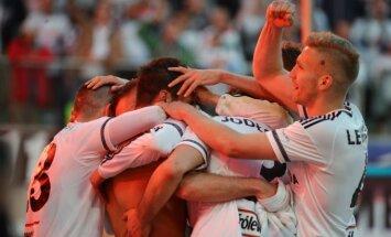 Varšuvos Legia futbolininkai