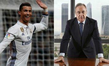 Cristiano Ronaldo ir Floretino Perezas