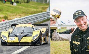 Ramūnas Čapkauskas ir Aquila bolidas 1006 km lenktynėse