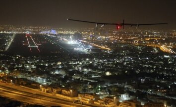 """Saulės energija varomas lėktuvas """"Solar Impulse 2"""""""