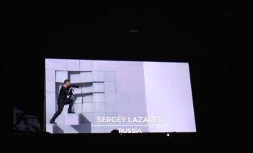 Sergėjus Lazarevas repeticijos metu