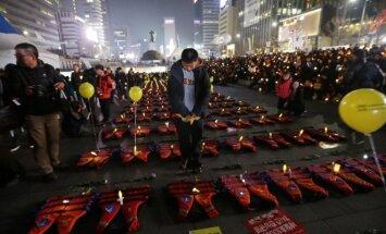 Protestai Pietų Korėjoj