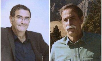 Nobelio fizikos premijos laureatai Serge'as Haroche ir Davidas Winelandas