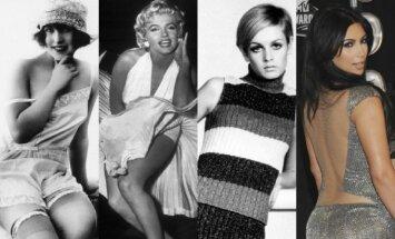Kaip per 100 metų keitėsi moters kūno grožio samprata