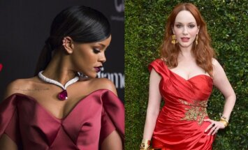 Rihanna, Christina Hendricks