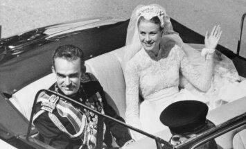Monako princas Rainieras III ir Grace Kelly