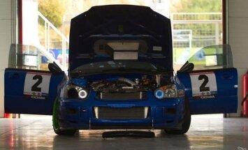 Maskviečių komanda startuos su Subaru WRX STi automobiliu