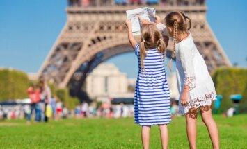 Vaikai Paryžiuje
