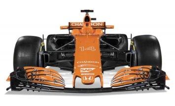 F-1 McLaren komandos naujas automobilis