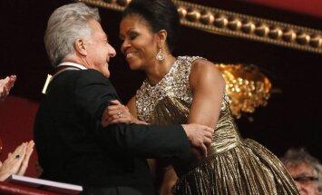 Dustinas Hoffmanas ir Michelle Obama