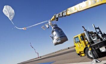 Red Bull Stratos projekto kulminacija