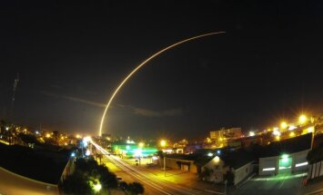 SpaceX raketos startas