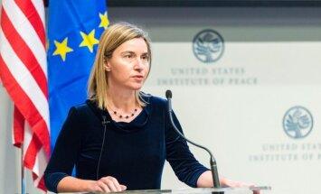 EU High Representative Federica Mogherini   Photo Ludo Segers
