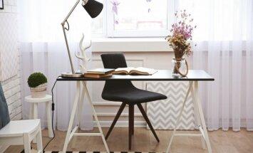 Dizainerės patarimai, kaip namuose įsirengti jaukią darbo vietą