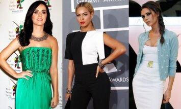 Katy Perry, Beyonce, Victoria Beckham