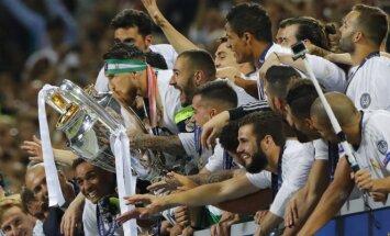 Madrido Real čempionų lygos nugalėtojai