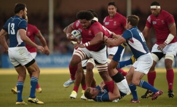 Regbio rungtynės: Tonga - Namibija
