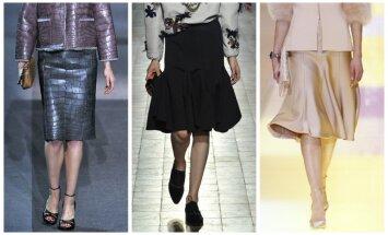 Louis Vuitton, Lanvin, Armani Prive modeliai